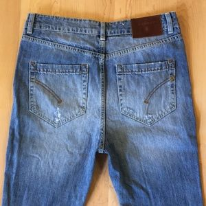 Dondup Fighter distressed jeans in Taegu wash